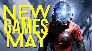 New games coming in May 2017