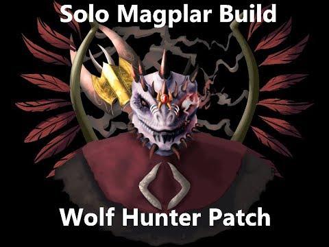 Solo magplar PvP build werewolf hunter patch — Elder Scrolls