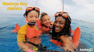 FIRST TIME SNORKELING! 🤿 | Montego Bay, Jamaica