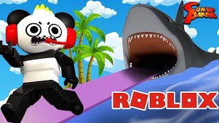 ROBLOX ESCAPE FROM VTUBERS LET'S PLAY WITH COMBO PANDA !!