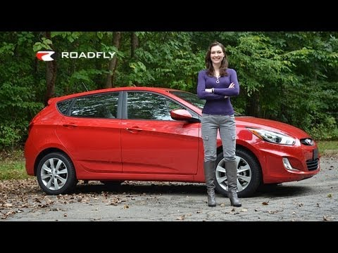 Hyundai Accent 2012 Test Drive & Car Review by RoadflyTV with Elizabeth Kreft