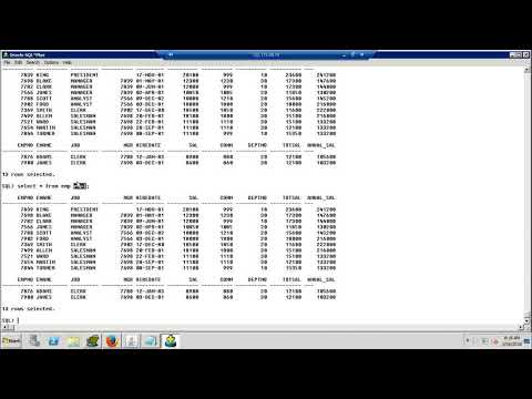 Oracle SQL & PL/SQL Online Training | Recorded Class Videos ...