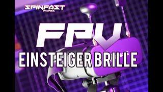DIE BESTE!!! Super FPV-Drohnen-Brille unter 100€ / EACHINE EV800DM im Test