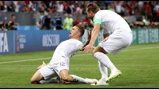 KIERAN TRIPPIER FREE-KICK GOLAZO ⚽ ENGLAND vs CROATIA WC2018