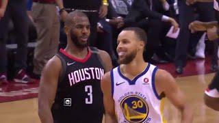 Chris Paul SHIMMY DANCES Steph Curry Game 5 Warriors vs Rockets