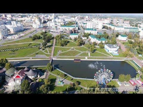 Аэросъемка города Саранск (Республика Мордовия)
