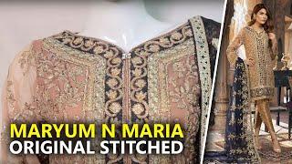 d6199ab0db Maryum N Maria Shamrock 2019 - Stitched Vazhdo MMS-502 - Sara Clothes Try