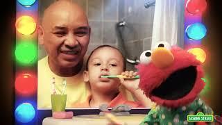 Teeth Brushing With Elmo