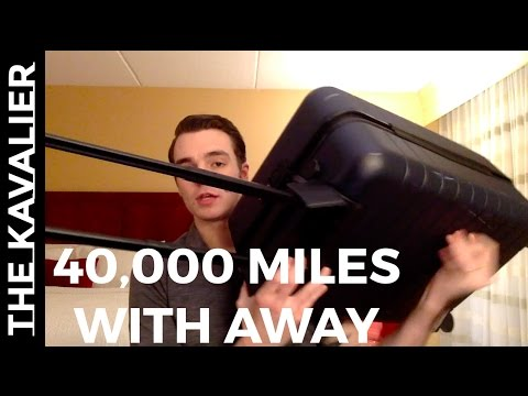 40,000+ miles traveled in 3 months with the Away Suitcase – Full Review