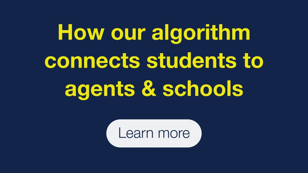 How our algorithm connects students to agents and schools