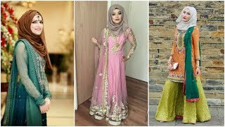 Most Requested Hijab For Wedding And Parties||hijab Style 2019