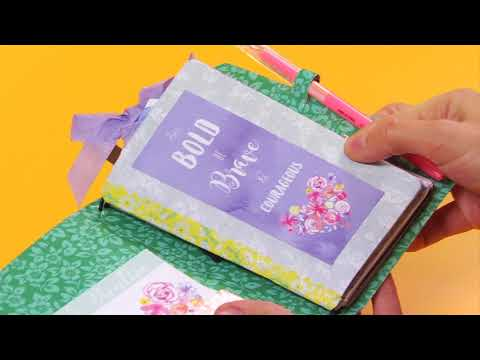 DIY Pocket Planner Dashboard with Katelyn Lizardi| Sizzix