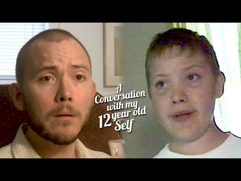 Watch This Man Have A Conversation With His 12-Year-Old Self