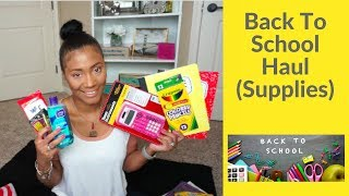 Back To School Haul| School Supplies For A 7th Grader