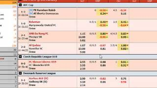 [HOT!] Soccer Goals Predictions - LIVE Betting Action