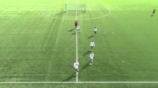 Innlæring dribling med ball (6 - 8 år)