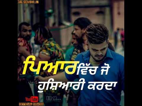 315 || Sucha Yaar Ft Street Boy || WhatsApp Status || New Punjabi Latest Video Song 2019