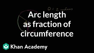Arc Length As Fraction Of Circumference