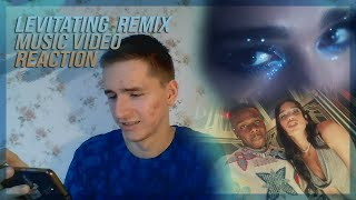Dua Lipa, DaBaby LEVITATING | MUSIC VIDEO | RUSSIAN REACTION | РЕАКЦИЯ
