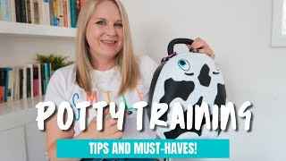 STRESS FREE POTTY TRAINING TIPS & MUST HAVE PRODUCTS | FAST POTTY TRAINING | UK FAMILY VLOGS