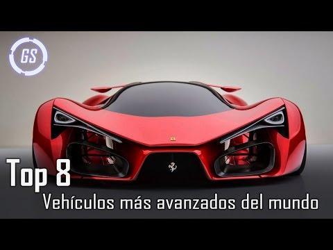 Top 8 Vehículos más avanzados del mundo    Autos del Futuro