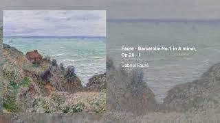 Barcarolle no. 1, Op. 26
