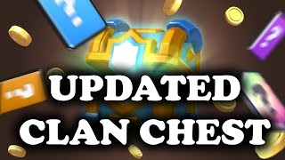 Updated Clan Chest! New Legendary Odds   Clash Royale