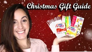 CLOSED Polymer Clay Christmas Gift Guide & Giveaway! // Maive Ferrando