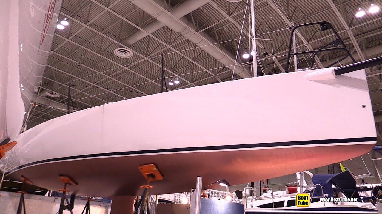 J88 Sailing Yacht – Deck, Interior and Hull Walkaround – 2015 Toronto Boat Show