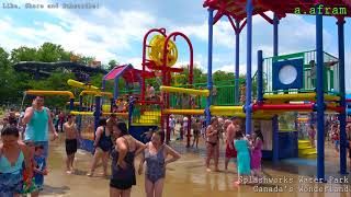 Tour Of Splashworks Water Park At Canada's Wonderland 4K