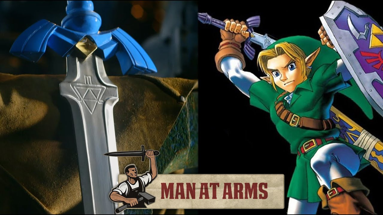 A Blacksmith Actually Went And Made The Awesome Legend Of Zelda Master Sword