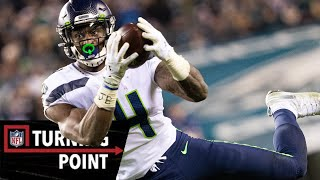 How D.K. Metcalf Broke the Rookie Receiving Record in Wild Card Weekend | NFL Turning Point