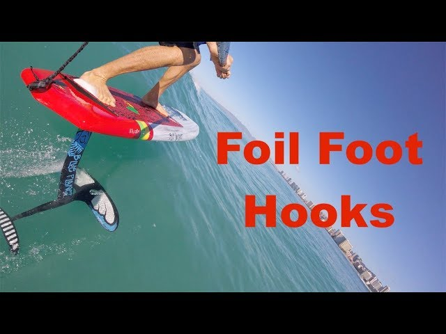 Foil Surfing Foot Hooks