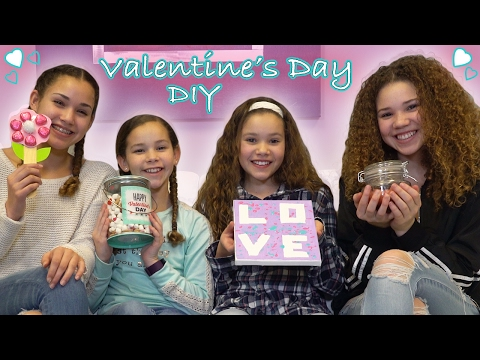 DIY Valentine's Day!  (Haschak Sisters)