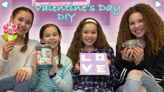 DIY Valentines Day!  (Haschak Sisters)