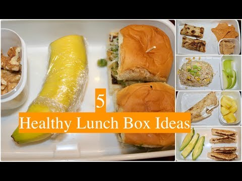 Video Kids Lunch Box Ideas (Part 3) | Indian Healthy Lunch Box Recipes | Quick  Lunch Box Ideas
