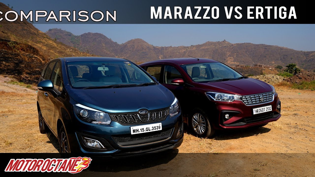 Motoroctane Youtube Video - Mahindra Marazzo vs Maruti Ertiga 2018 Comparison | Hindi | MotorOctane