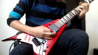 Children Of Bodom - Bed Of Razors (Guitar cover)