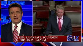 Stop the Tape! Sen. Rand Paul Sounds the Fiscal Alarm