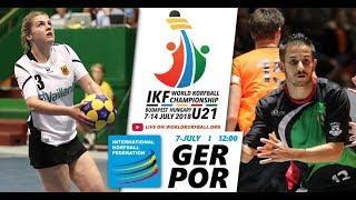 IKF U21 WKC 2018 GER-POR