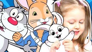 КРОЛИК ПИТЕР Амелька собирается в кинотеатр на мультик Хочет взять живого кролика Пушинку Kids Video