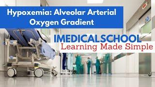 Medical School - Hypoxemia: Alveolar - Arterial Oxygen Gradient Made Simple