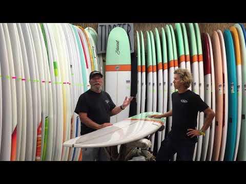 Stewart Ripster Longboard