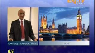 Eritrean News  Interview on Independence Day with Ambassador Tesfamicael Gerahtu