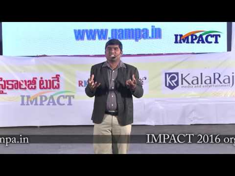 Be Positive|Shivaranjan Reddy|TELUGU IMPACT Hyd August 2016