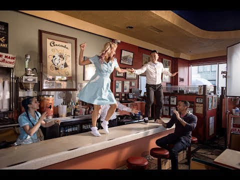 America's Musical Journey (Featurette 'Filming at the Arcade Diner')
