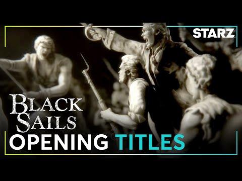 Video trailer för Black Sails | Opening Title Sequence | STARZ