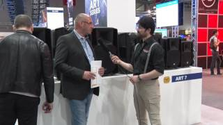 Musikmesse 2017 RCF zeigt Update der ART 7-Serie Lautsprecher Prolight+Sound (deutsch)