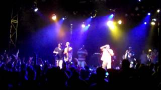 Joe Budden performs Sober Up with Crooked I at El Rey Theatre