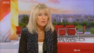 Christine McVie BBC Breakfast 2017